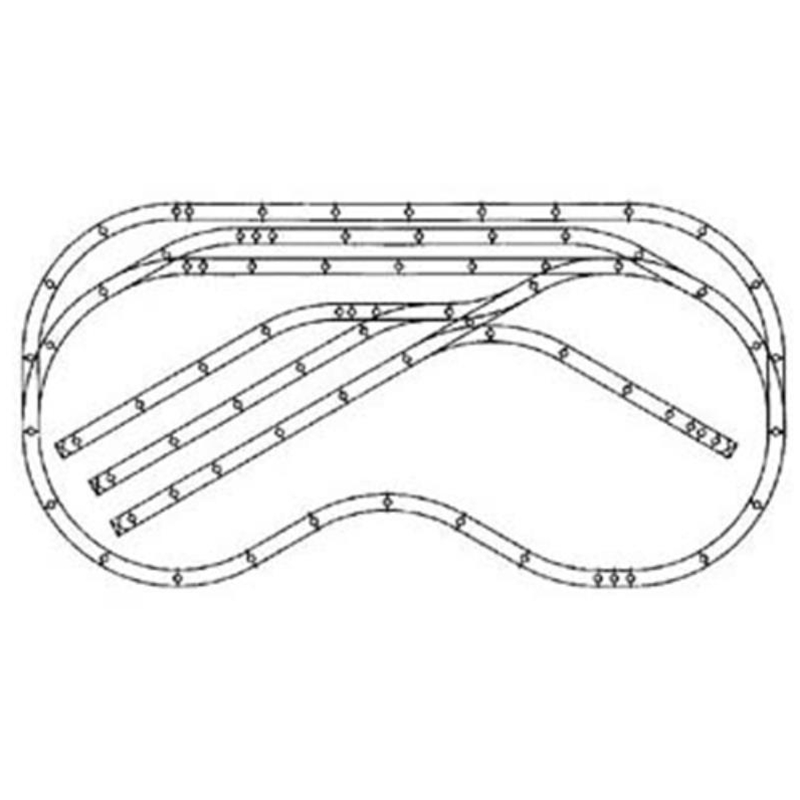 Ho Scale Track Plans